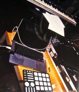Elektro-Setup der Tape Riders