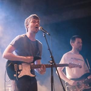 Jonas und Benni auf der Bühne